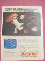 1983 Color Ad-Burgertime Video Game-Mattel Electronics - $7.99