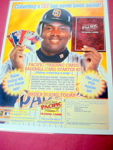 2000 Ad Pacific Trading Cards Featuring Tony Gwynn - $7.99
