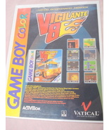 1999 Ad Vigilante 8 Video Game Vautical Entertainment - $7.99