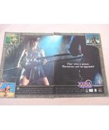 1999 Ad Xena Warrior Princess Video Game Prima Games - $7.99