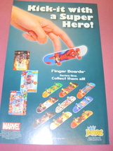 2008 Ad Marvel Finger Boards by Imperial Spider-Man - $7.99