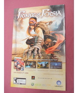 2008 Ad Prince of Persia Video Game - $7.99