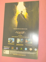 2005 Ad Batman Begins Video Game - $7.99