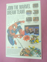 1992 Ad 3 Spider-Man Video Games - $7.99