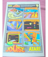 1983 Ad Joust Video Game For Atari 2600 & 5200 - $7.99