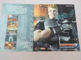 1999 Ad Fighting Force 2 Video Game Eidos Interactive - $7.99