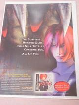 1999 Ad Dino Crisis Video Game - $7.99