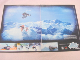 1999 Ad Sled Storm Video Game Electronic Arts - $7.99