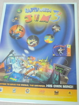 1999 Ad Earthworm Jam 3D Video Game - $7.99