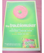 2002 Color Ad Life Savers Kickerz Hard Candy - $7.99