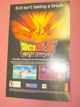 2006 Ad Dragon Ball Z Shin Budokai Video Game - $7.99