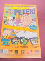 2006 Ad Family Guy Video Game - $7.99