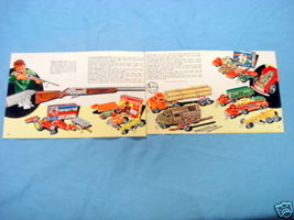 1950's Illustrated Color Catalog Pages Hubley Toys - $9.99