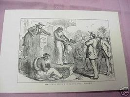 1900 Illustrated Page Slave Auction & Inventors - $7.99