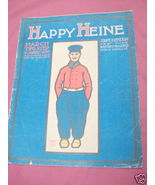 1905 Happy Heine March Two Step Sheet Music - $7.99