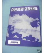 1941 Sheet Music Shepherd Serenade - $7.99