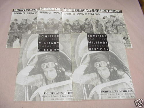 Five Schiffer Military Books Catalog 1996-1997