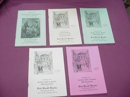 5 Oak Knoll Books Catalogs #136, 144, 145, 146, 147 - $19.99