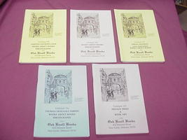 5 Oak Knoll Books Catalogs #148, 149, 153, 154, 155 - $19.99