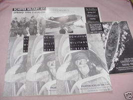Six Schiffer Military Books Catalog 1996-1997 - $19.99