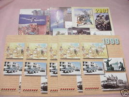 8 Concord Publications Military Books Catalogs 1996-01 - $19.99