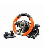 PC Racing Wheel, V3II 180 Degree Universal Usb Car Sim Race Steering Wheel - $188.09