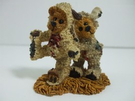 1996 Boyds Bears Nativity Series #3 Winkie & Dink as the Lambs Figurine ... - $9.85