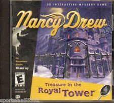 Nancy Drew: Treasure In The Royal Tower 3D Interactive Mystery Game 2001