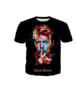 David Bowie Unisex Casual Harajuku Style T-Shirt Size M New! - $19.10
