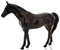 "Hagen-Renaker Miniature Ceramic Horse Figurine Thoroughbred ""Citation"" image 9"