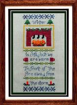 Little Winter holiday cross stitch chart Misty Hill Studio - $9.00
