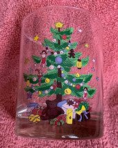 Nikko Christmas Tree Double Old Fashioned Glassware 14 oz Holiday Glass One - $9.89