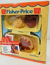 Vintage 1988 Fisher Price Fun with Food McDonald's Breakfast #2164 NIB - $84.15