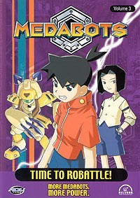 Medabots: Time to Robattle! Vol. 03 DVD Brand NEW!