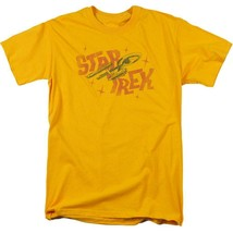 Star Trek distressed t-shirt U.S.S Enterprise Retro sci-fi graphic tee CBS1312 image 1