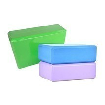 Yoga Foam Pilates Exercise Brick Stretch Fitness Block Sport Eva Sports ... - £5.51 GBP