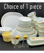 Corelle By Corning BUTTERFLY GOLD *** CHOICE OF 1 PIECE *** (17-1418) - $5.70+