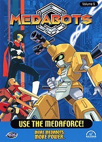 Medabots: Use The Medaforce! Vol. 05 DVD Brand NEW!