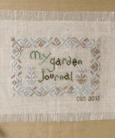 April's Daisy My Garden Journal cross stitch chart Cottage Garden Samplings