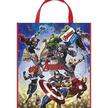 """Avengers Loot Favors Large Party Tote Bag 13"""" x 11"""" - $2.49"""