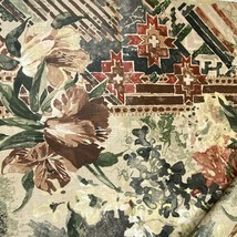 Wolfgang John Fabric Oasis Fresco Collection 6 yards 5 In Floral Vintage  - $88.11