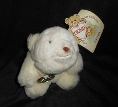 Vintage 1980 Gund Bambino Bianco Snuffles Orsacchiotto Peluche Giocattol... - $17.59