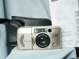Nikon Lite Touch Zoom 70W AF - Quality Compact Camera Cased + Inst -Mint-Tested- - $35.00