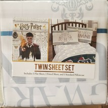 Harry Potter Twin Sheet Set 3 Piece. NEW - $38.99