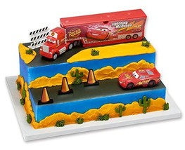 Cars Built For Speed - Cake Decorating Set - $16.90
