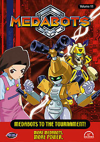 Medabots: Medabots To The Tournament! Vol. 11 DVD Brand NEW!