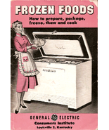 1950s pamphlet - GE - Frozen Foods - how to's - $5.00