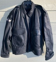 SPORTY'S PILOT SHOP FLYERS MEN'S LEATHER TYPE C-1 FLIGHT JACKET - X-LARG... - $143.55