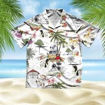 Unisex 3D Hawaiian Shirt Unisex Japanese chin Beach Hawaiian Shirt - £28.96 GBP