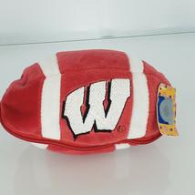 Plushland Wisconsin Badgers Football Stuffed Plush Zip Zipper Toy Teddy ... - $39.59